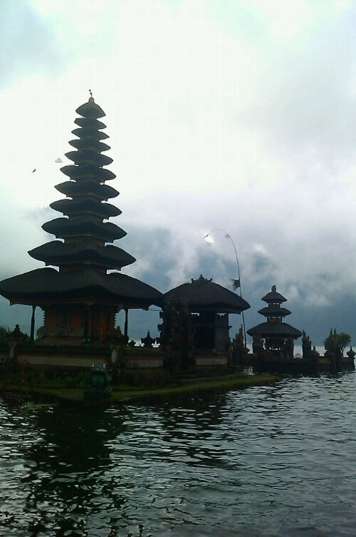 Floating Bali Temple