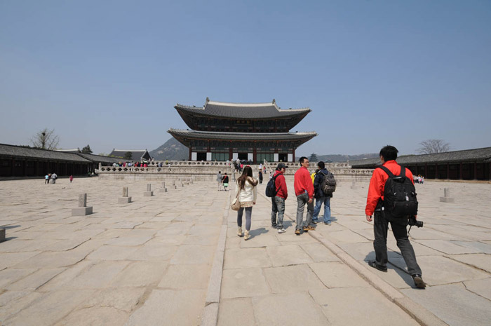 Heading Again Towards Gyeongbokgung Main Palace