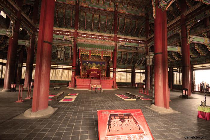 GyeongBokGung Palace Court