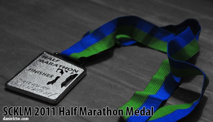 DanielCtw SCKLM2011 21km Finisher Medal