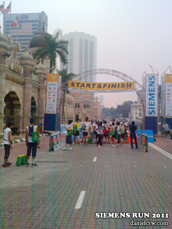 Siemens Run 2011 Starting Point