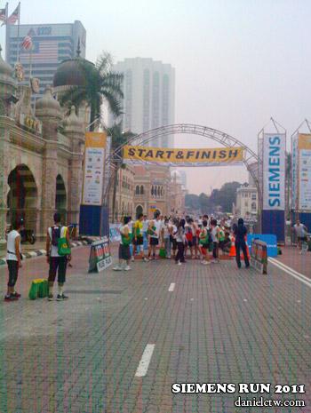 Siemens Run 2011 Starting Point