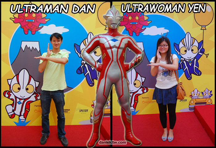 Ultraman Pose to Have Fun
