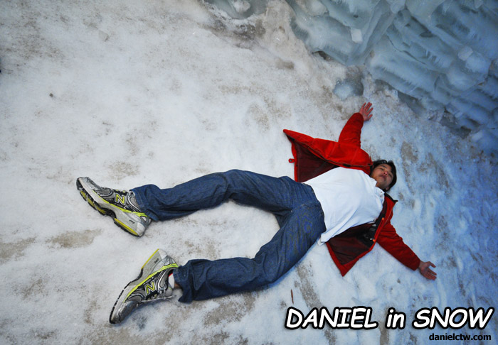 Daniel Chew in Snow