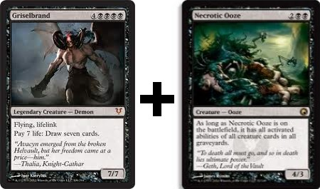Necrotic Ooze and Griselbrand