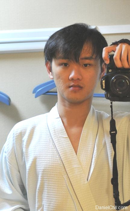 Daniel Chew bathrobe