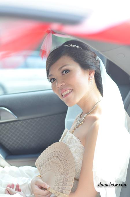 Vincy in the Car