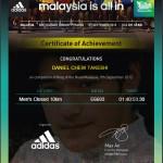 My First KOTR Running Medal 2012