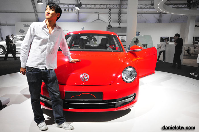 Daniel Chew with Volkswagen
