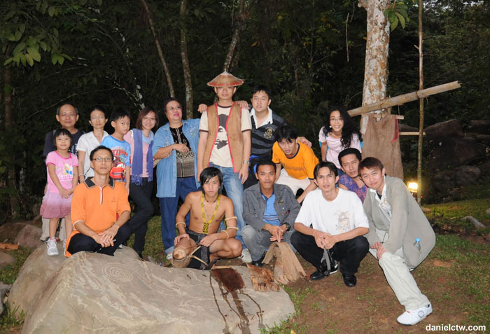 Group Photo Cultural Village Kota Kinabalu