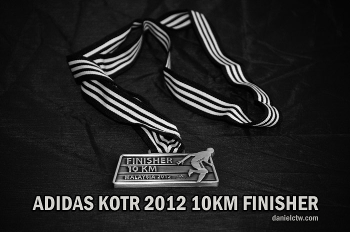 King of the Road 2012 Finisher Medal