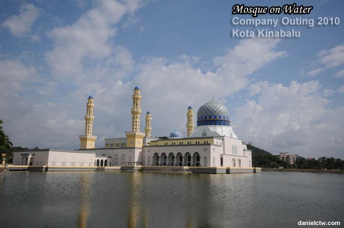 Mosque on Water Kota Kinabalu