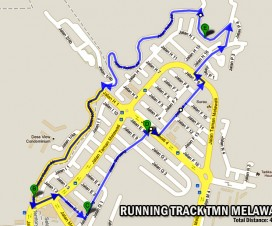 Running Track 4KM Taman Melawati