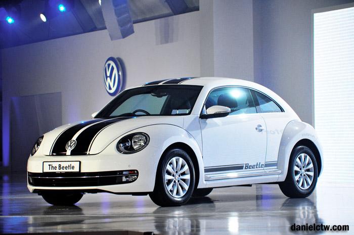 Volkswagen Beetle Display