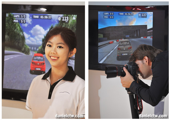 Volkswagen Girl and a Photographer
