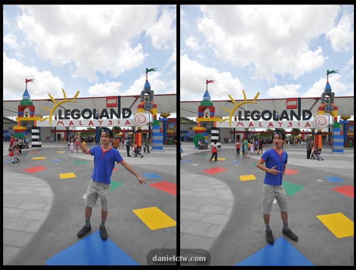 Daniel Chew visits Legoland Malaysia