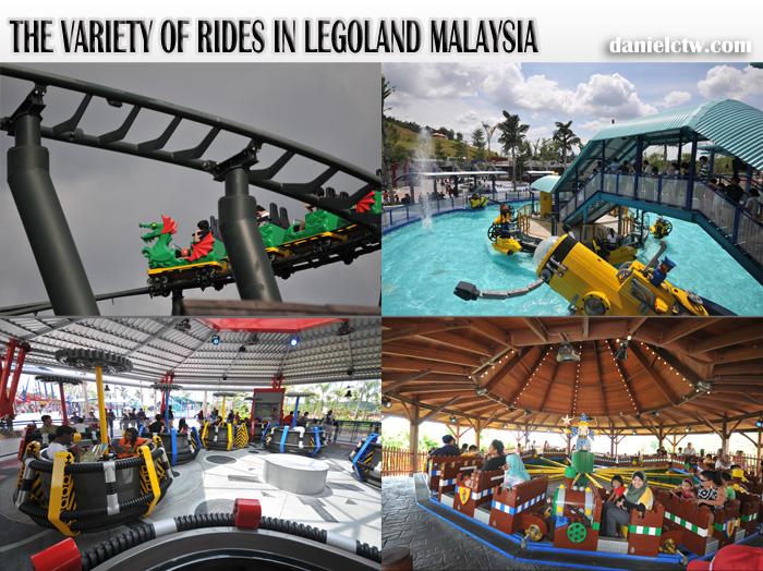 legoland malaysia rides