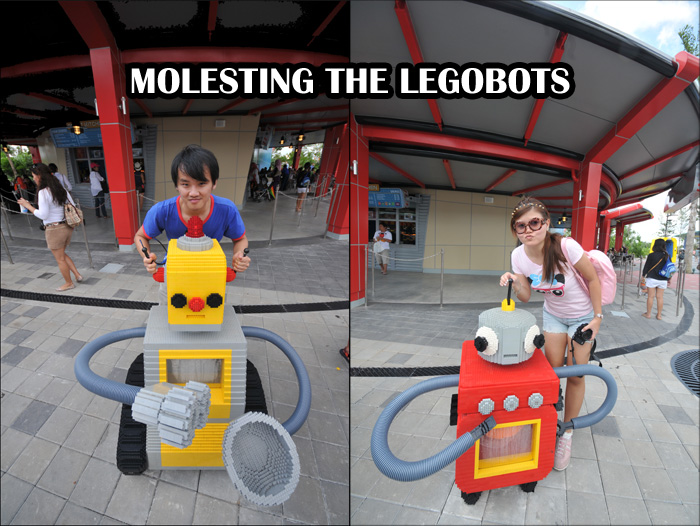 molesting the legobots