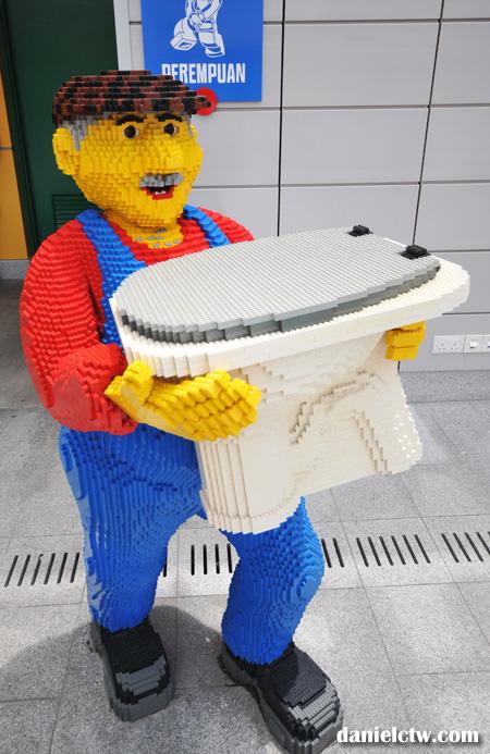 toilet legoland janitor