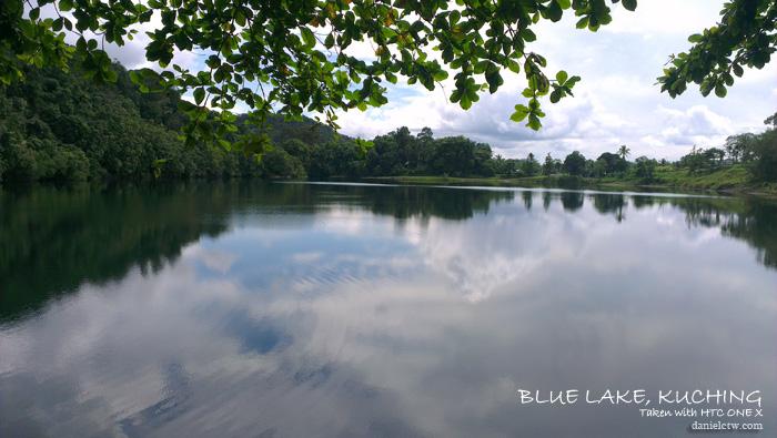 blue lake kuching sarawak