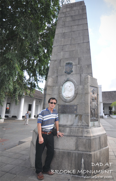 dad charles brooke monument kuching 2013