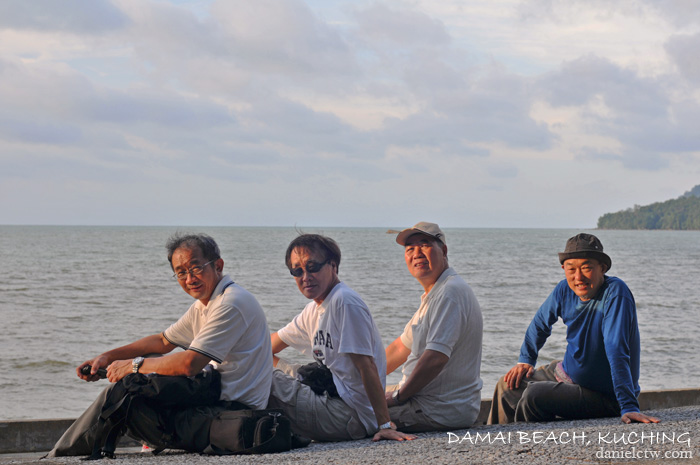 damai beach kuching uncle gathering