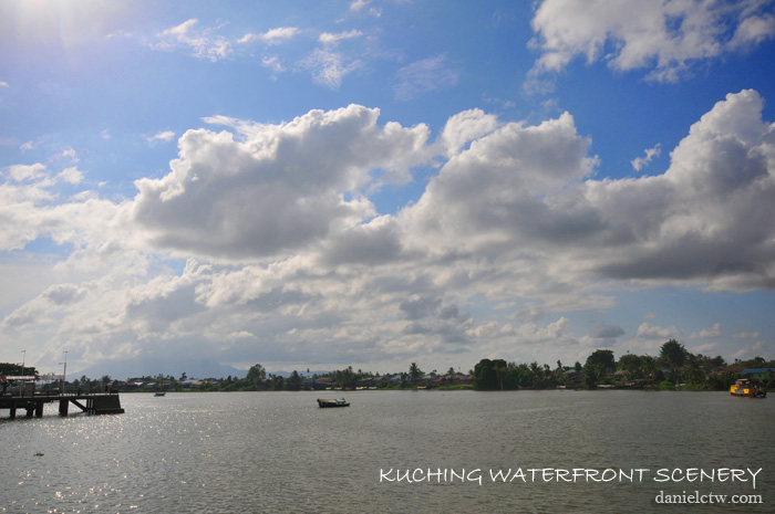 Kuching Waterfront scenery