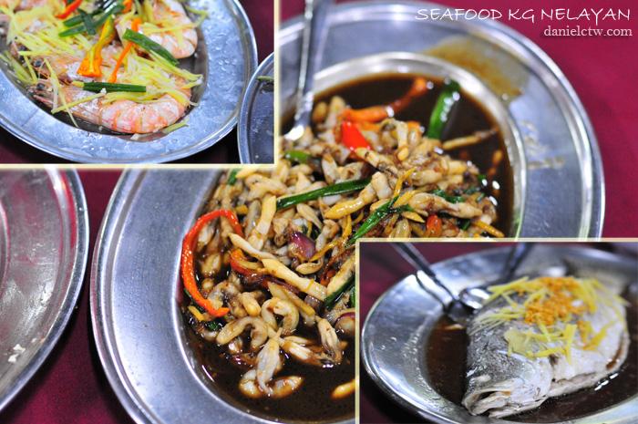 seafood kampung nelayan