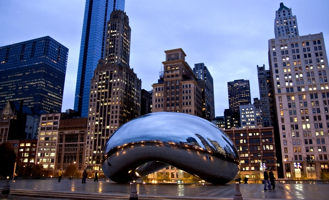 chicago USA cloudgate