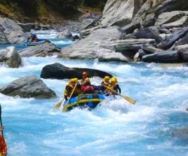 white water rafting in Kawarau