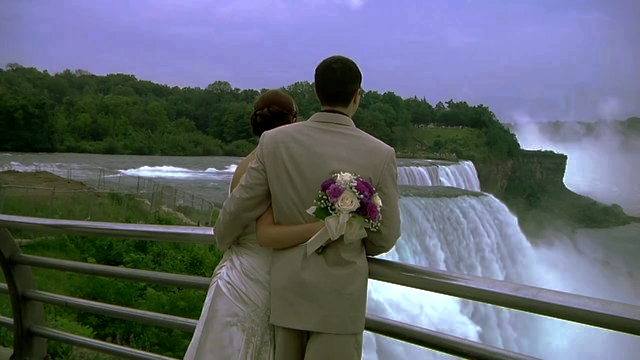 Wedding at Niagara Falls