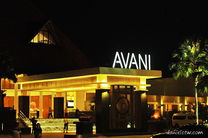 avani resort main entrance
