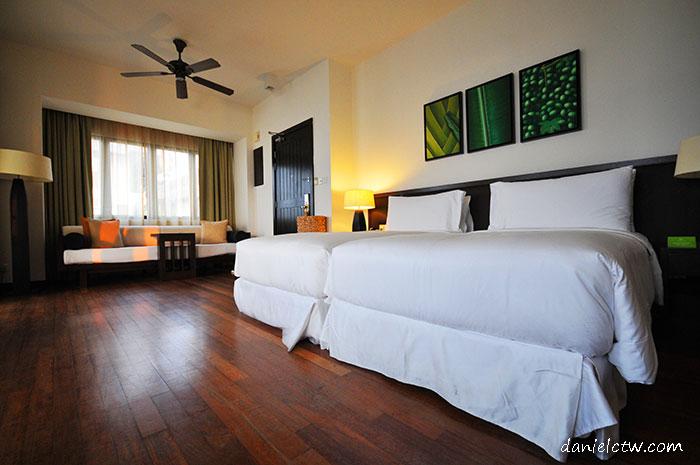 avani resort villa room