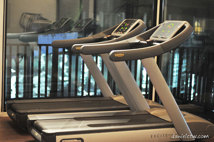treadmill avani resort sepang gym