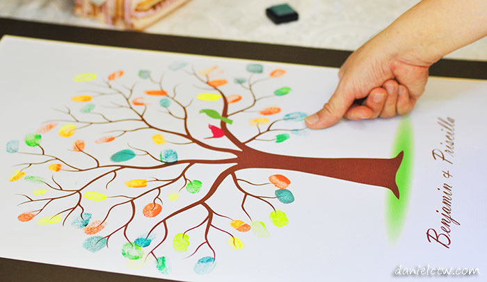 Benjamin Priscilla Thumbprint Tree