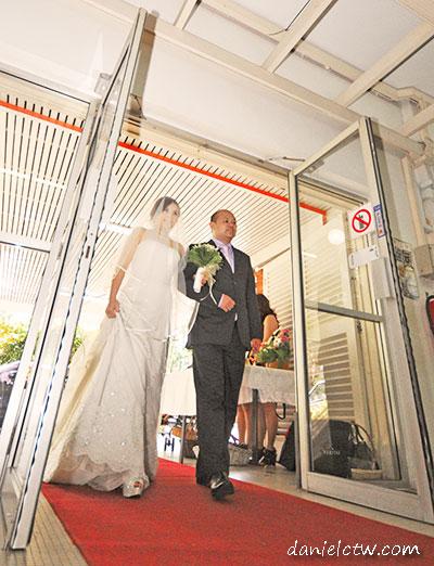 Bride Goes In