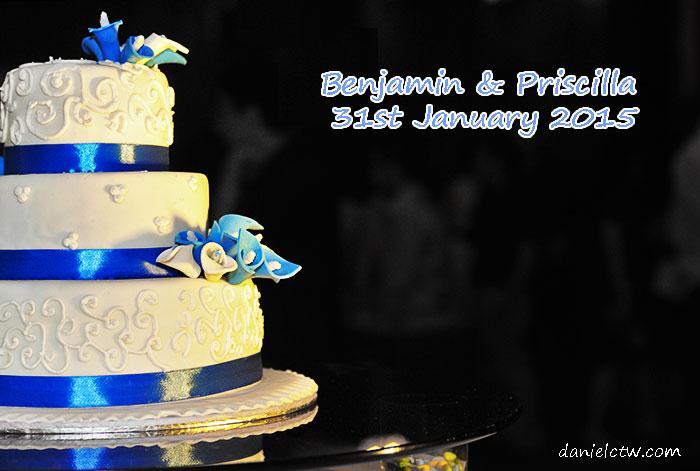 wedding cake benjamin priscilla