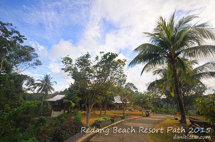 Berjaya Redang Beach Resort Path 2015
