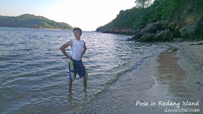 daniel chew pose redang island