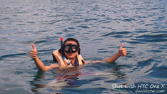 daniel chew snorkeling Redang