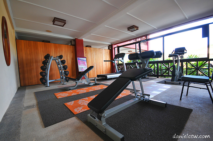 gym facilities berjaya beach resort