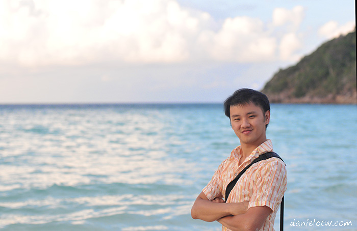 redang beach resort blue sea