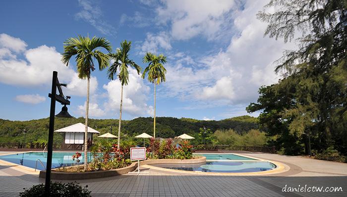 swimming pool berjaya redang beach resort