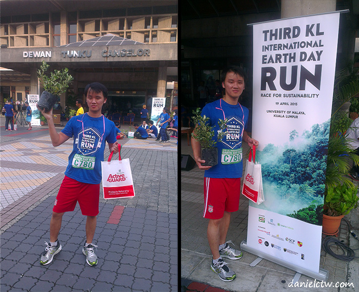 daniel chew earth day run 2015