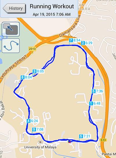running track University Malaya
