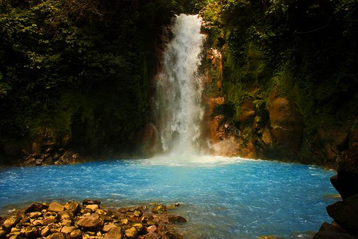 Catarata Rio Celeste Costa Rica