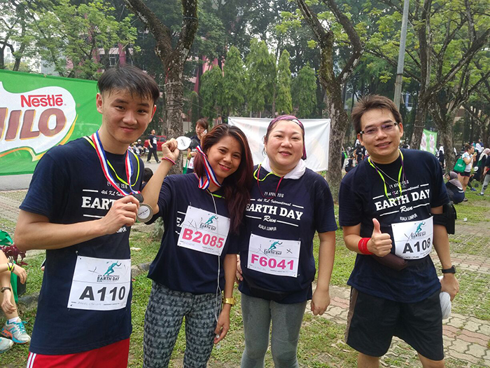 earthdayrun colleague 1