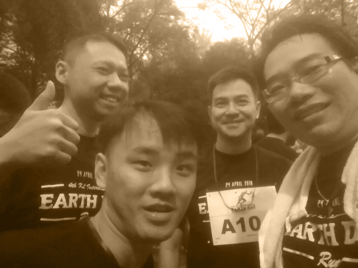 just arrived earth day run 2016