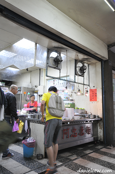 checking out the noodle store hsinchu