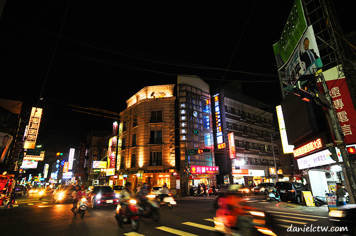 hsinchu night traffic